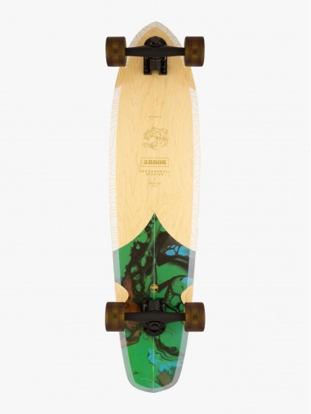 Arbor Performance Complete Groundswell Mission 8.625'' | Fuxia