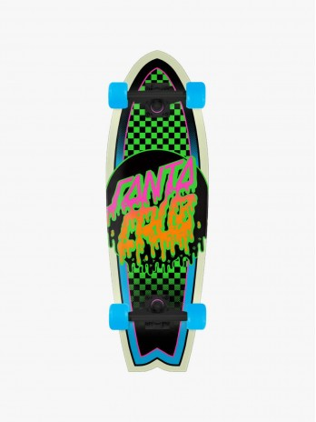 Santa Cruz Complete Rad Dot Shark 8.8''