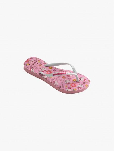 Havaianas Slim Hello Kitty Kids | Fuxia