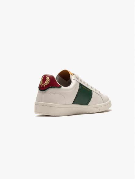 Fred Perry B721 Leather | Fuxia