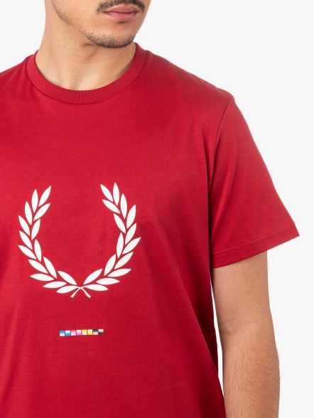 Fred Perry Print Registration | Fuxia