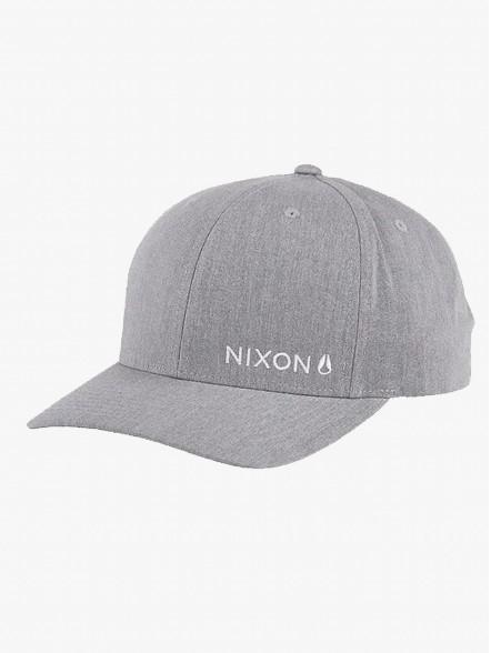 Nixon Lockup Snapback | Fuxia