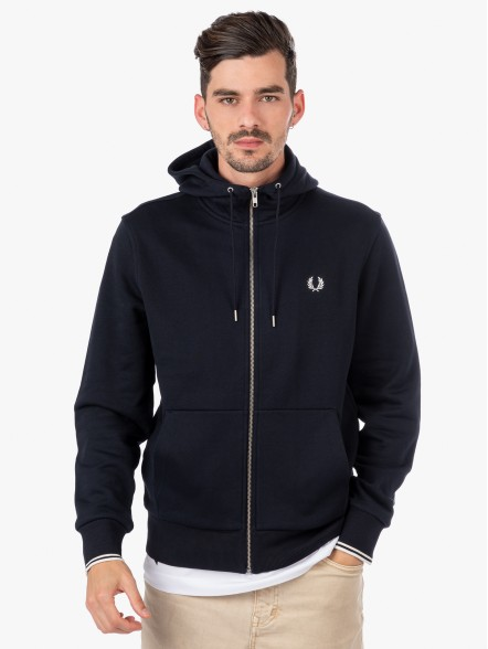 Fred Perry Through Zip   Fuxia