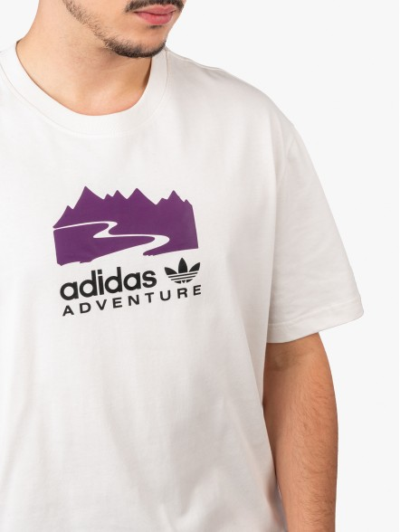 adidas Adventure Logo   Fuxia