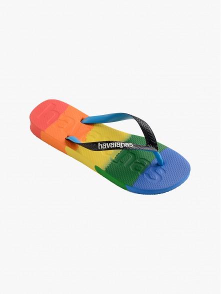 Havaianas Logomania Multicolor Pride | Fuxia