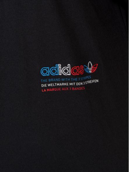 adidas Adicolor Tricolor Oversize W | Fuxia