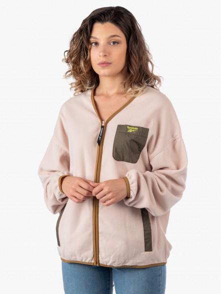 Reebok Classics Polar Fleece W | Fuxia