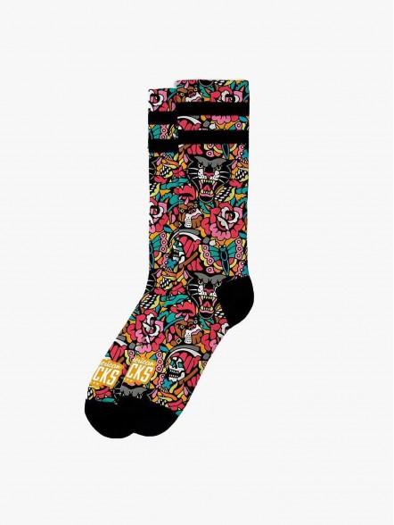 American Socks Bulldog   Fuxia