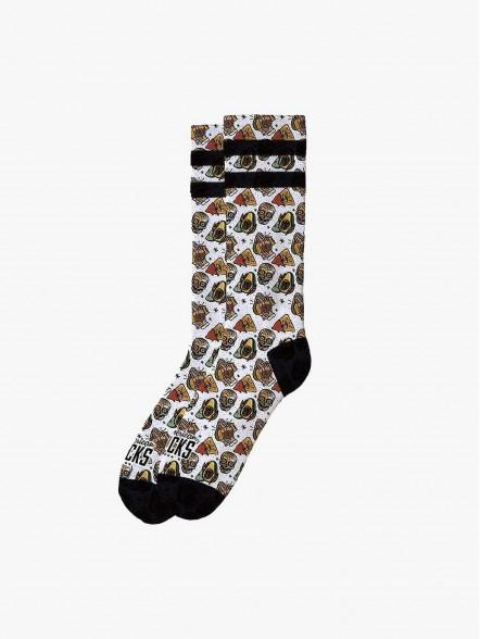 American Socks Taco Life | Fuxia