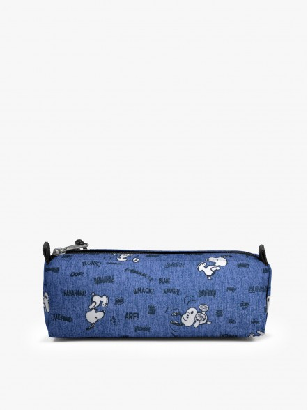 Eastpak Benchmark Single Peanuts Snoopy   Fuxia