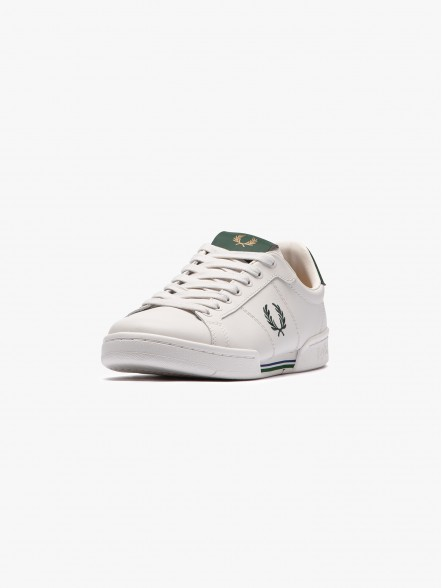 Fred Perry B722 Leather   Fuxia