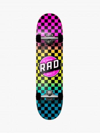 Rad Checkers Neon Fade 7.75