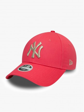 New Era New York Yankees Metallic 9Forty W