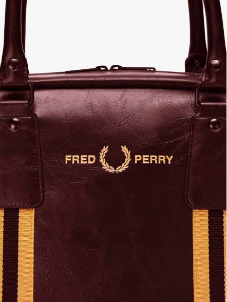 Fred Perry Refined Webbing | Fuxia