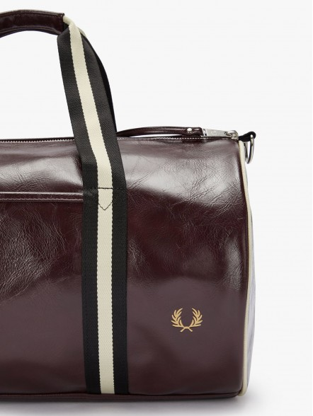 Fred Perry Contrast Colour Barrel   Fuxia