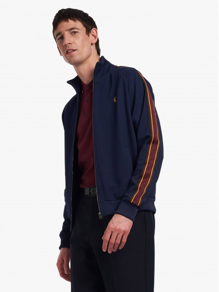 Fred Perry Striped Tap   Fuxia