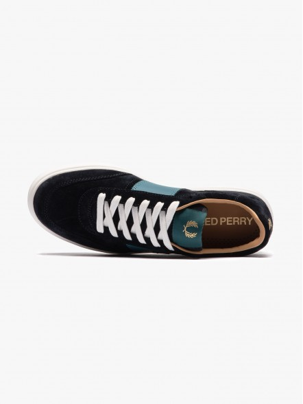 Fred Perry B400 Suede   Fuxia
