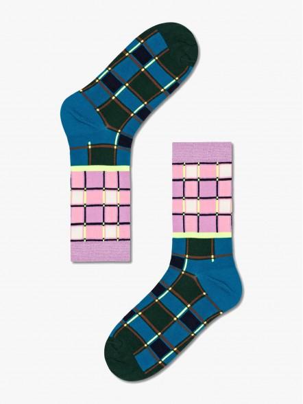 Happy Socks Noomi Crew   Fuxia