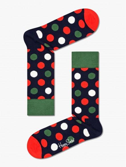 Happy Socks Big Dot   Fuxia