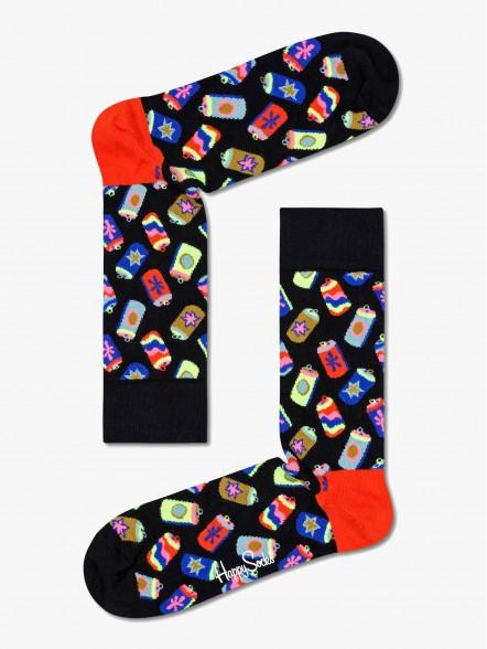 Happy Socks Can   Fuxia