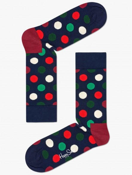 Happy Socks Big Dot | Fuxia
