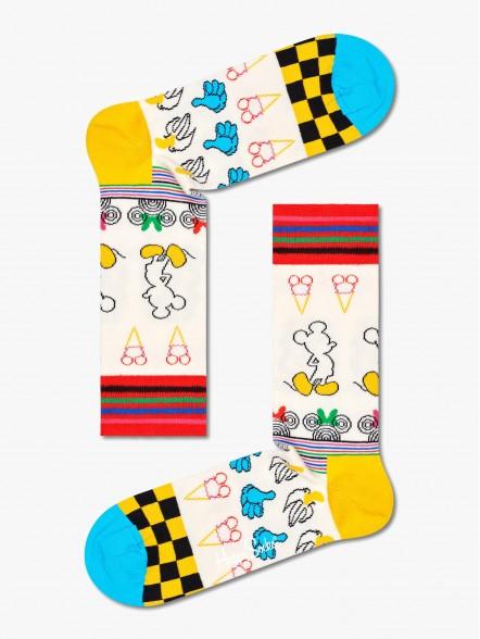 Happy Socks Sunny Sketch   Fuxia