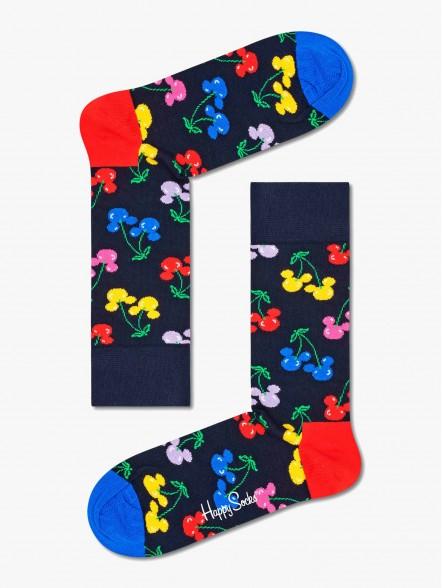 Happy Socks Very Cherry Mickey | Fuxia